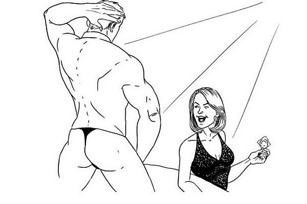 Жесткие вопросы о сексе, тетка заставила сделать ей кунилингус